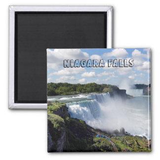 Chutes du Niagara Magnet Carré