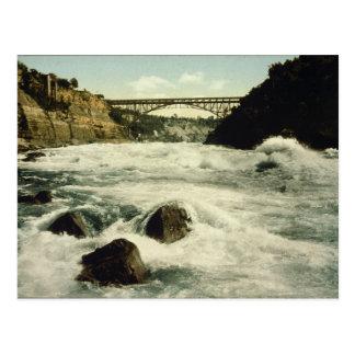 Chutes du Niagara New York 1898 de rapide de Cartes Postales