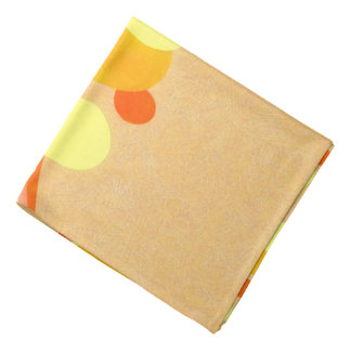 Ci jaune et orange d'arrière - plan de Brown d'art Bandanas