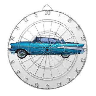 Cible 1957 classique de coutume de Chevy BelAire Jeu De Fléchettes