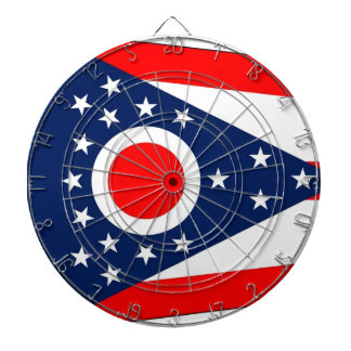 Cible avec le drapeau de l'Ohio, Etats-Unis