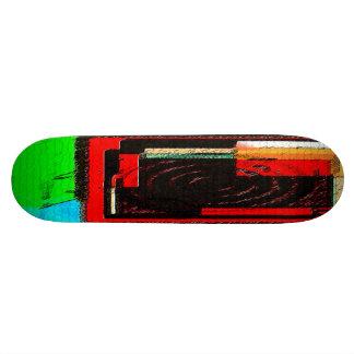 cible carrée skateboard 19,7 cm