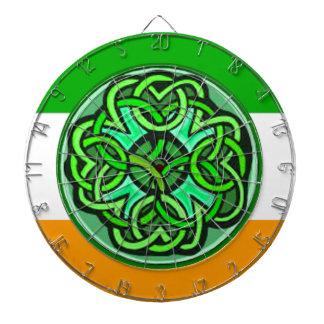 Cible celtique de noeud jeu de fléchettes