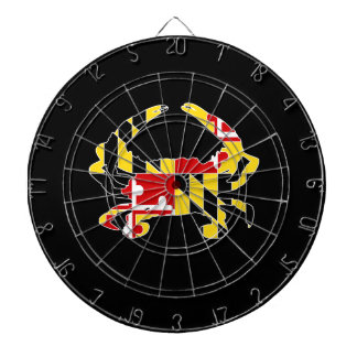 Cible de crabe de drapeau du Maryland Jeux De Fléchettes