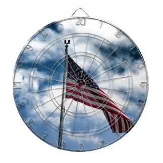 Cible de drapeau américain jeu de fléchettes