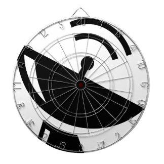 Cible De Fléchettes Antenne parabolique