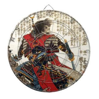 Cible De Fléchettes Art classique oriental de guerrier de cool