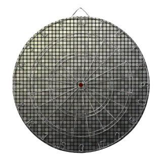 Cible De Fléchettes Art gris de pixel