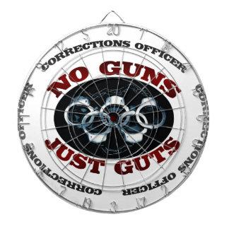 Cible De Fléchettes Aucunes entrailles d'armes à feu juste