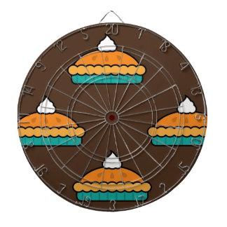 Cible De Fléchettes Citrouille de dessert de tarte de tarte de