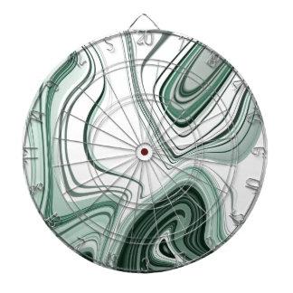 Cible De Fléchettes Conception verte audacieuse d'effet de pierre