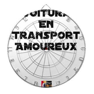 Cible De Fléchettes COVOITURAGE EN TRANSPORT AMOUREUX - Jeux de mots