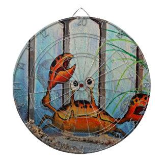 Cible De Fléchettes Crabe d'Ocypoid