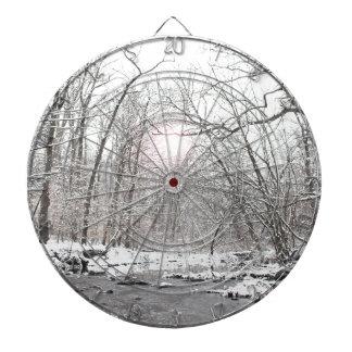 Cible De Fléchettes Crique - hiver