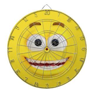 Cible De Fléchettes Effet heureux Emoji de #D