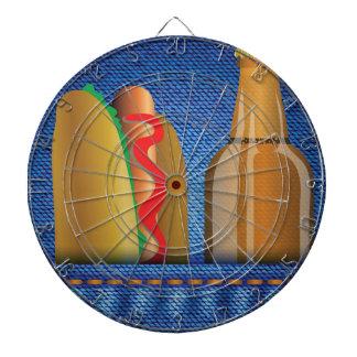 Cible De Fléchettes hot-dog