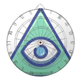 Cible De Fléchettes Illuminati
