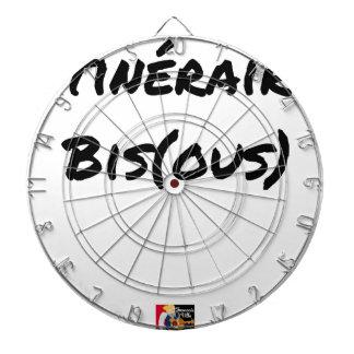 Cible De Fléchettes ITINÉRAIRE BIS(OUS) - Jeux de mots -Francois Ville