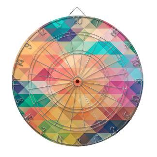 Cible De Fléchettes La géométrie en pastel