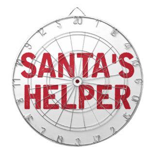 Cible De Fléchettes L'aide de Père Noël