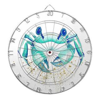 Cible De Fléchettes Le crabe de Neptune