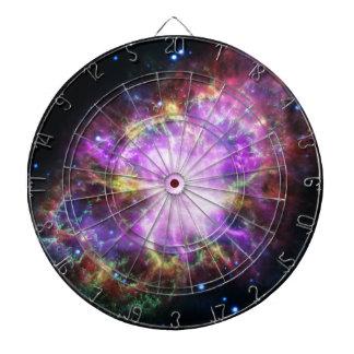 Cible De Fléchettes Le rayon X de Chandra dans la nébuleuse de crabe