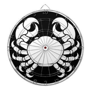 Cible De Fléchettes Le zodiaque signe le crabe de Cancer