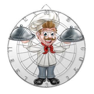 Cible De Fléchettes Mascotte de personnage de dessin animé de