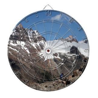 Cible De Fléchettes Montagnes de parc national de glacier, Argentine 2