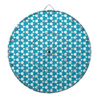 Cible De Fléchettes Motif abstrait 1 de turquoise