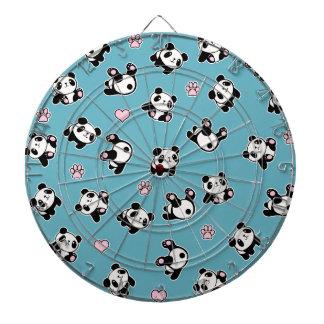 Cible De Fléchettes Motif de panda