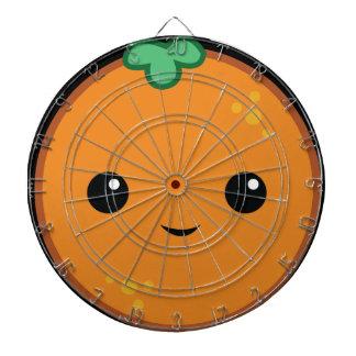 Cible De Fléchettes Orange mignonne