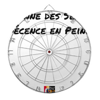 Cible De Fléchettes PANNE DES SENS, DÉCENCE EN PEINE - Jeux de mots