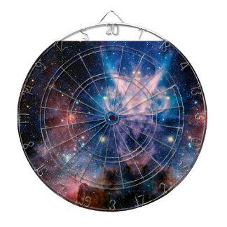 Cible De Fléchettes Panneau de dard de galaxie
