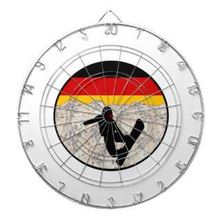 Cible De Fléchettes Pensionnaires allemands