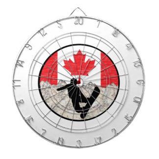 Cible De Fléchettes Pensionnaires canadiens
