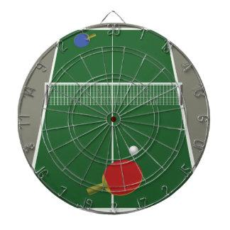 Cible De Fléchettes ping-pong