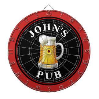 Cible De Fléchettes Pub personnalisé de bière