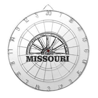 Cible De Fléchettes roues du Missouri