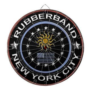 Cible De Fléchettes Rubberband (cible de cage en métal)