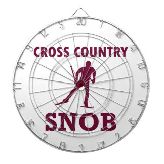 Cible De Fléchettes Snob de ski de pays croisé