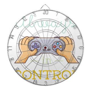 Cible De Fléchettes Toujours dans le Gamer de contrôle