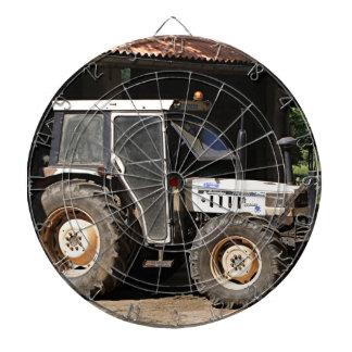 Cible De Fléchettes Tracteur gris, EL Camino, Espagne
