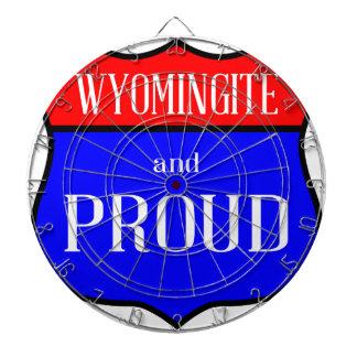 Cible De Fléchettes Wyomingite et fier