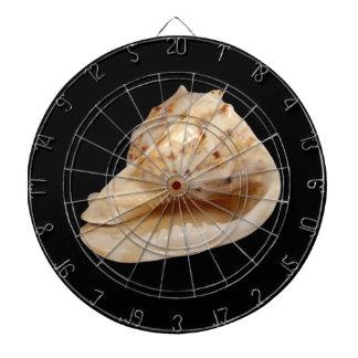 Cible de Shell de conque Jeux De Fléchettes