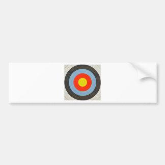 Cible de tir à l'arc autocollants pour voiture