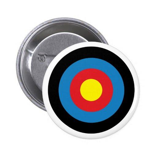 Cible de tir à l'arc badges