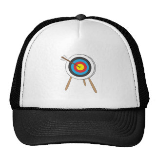 Cible de tir à l'arc casquettes de camionneur