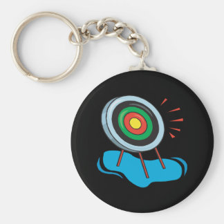 Cible de tir à l'arc porte-clefs