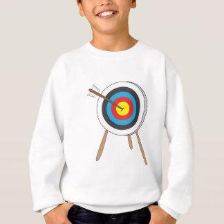 Cible de tir à l'arc sweatshirt